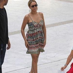 Parker Silk Bustier Mini Dress